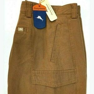 "Tommy Bahama Key Grip Shorts Brown NEW 30"" W Cargo"